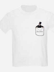 Kid's Pocket Abe Light T-Shirt