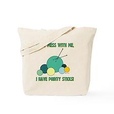POINTY STICKS Tote Bag