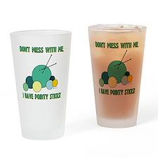 POINTY STICKS Drinking Glass