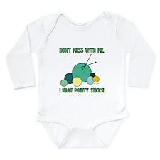 POINTY STICKS Long Sleeve Infant Bodysuit