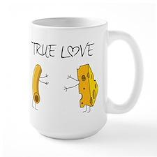 True love macaroni and cheese Mugs