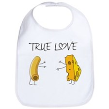 True love macaroni and cheese Bib