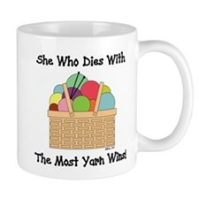 SHE WHO DIES WITH... Mug