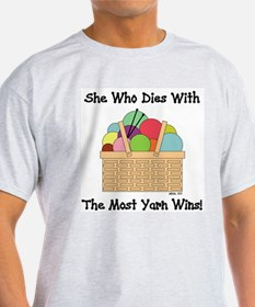 SHE WHO DIES WITH... T-Shirt