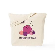 I KNIT... Tote Bag