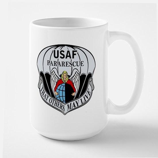 USAF PJ Logo Large Mug