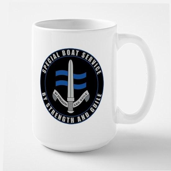 Special Boat Service Large Mug Mugs