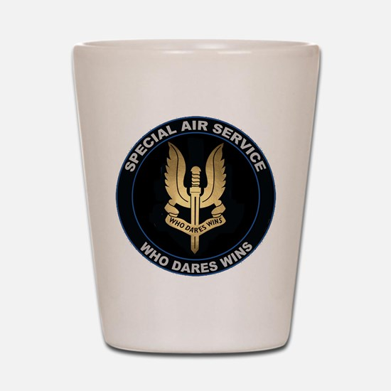 Special Air Service Shot Glass