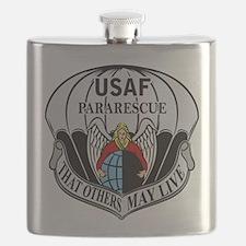 USAF PJ Logo Flask