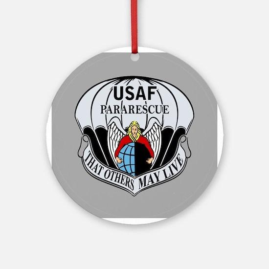 USAF PJ Logo Ornament (Round)