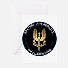 Special Air Service Greeting Cards (Pk of 10)