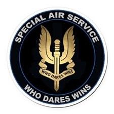 Special Air Service Round Car Magnet
