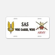 Special Air Service Aluminum License Plate