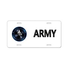 US Army Delta Force Aluminum License Plate
