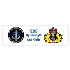 Special Boat Service Car Sticker