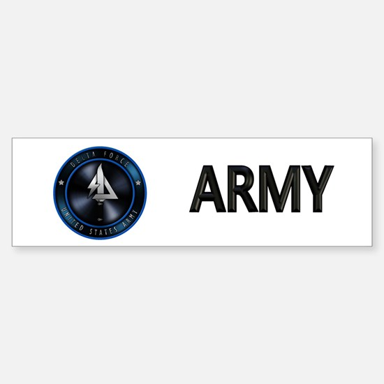 US Army Delta Force Sticker (Bumper)