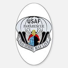 USAF PJ Logo Sticker (Oval)