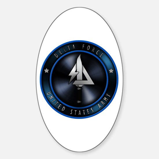 US Army Delta Force Sticker (Oval)