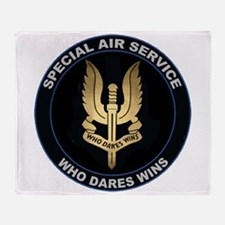 Special Air Service Throw Blanket