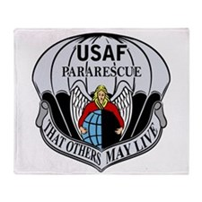 USAF PJ Logo Throw Blanket