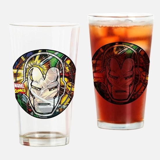 Iron Man Icon Drinking Glass