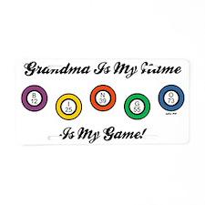 GRANDMA IS MY NAME Aluminum License Plate