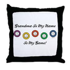 GRANDMA IS MY NAME Throw Pillow