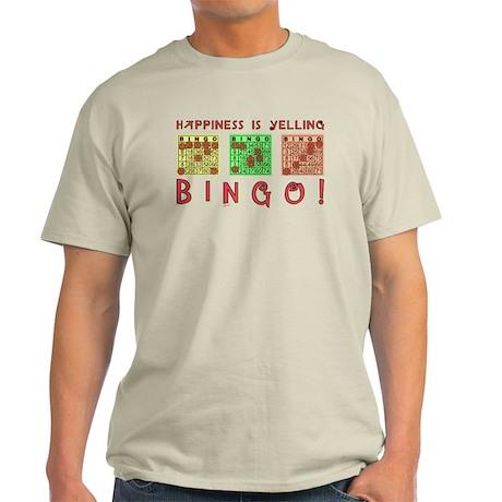 HAPPINESS IS YELLING BINGO! T-Shirt