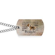 Cute Beagle Dog Tags