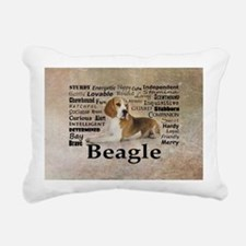 Cute Beagle Rectangular Canvas Pillow