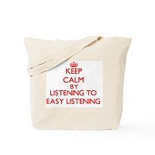 Cute Easy listening Tote Bag