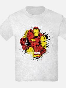 Iron Man Paint Splatter T-Shirt