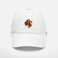 Iron Man Paint Splatter Baseball Baseball Cap