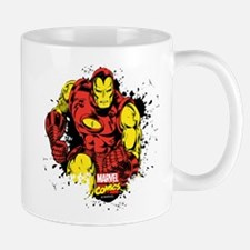 Iron Man Paint Splatter Mug