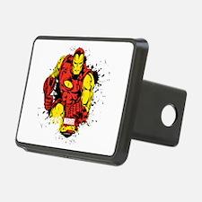 Iron Man Paint Splatter Hitch Cover