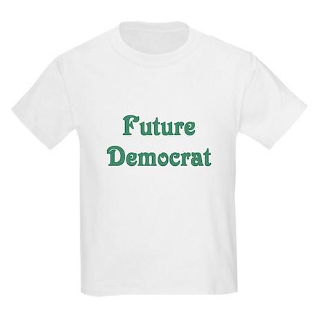 Future Democrat Kids Light T-Shirt