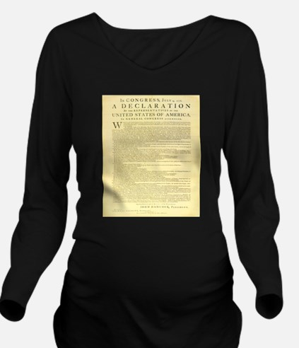 The Declaration Of Independence Long Sleeve Matern
