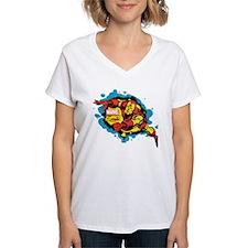 Iron Man Splatter Shirt