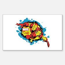 Iron Man Splatter Decal