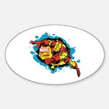 Iron Man Splatter Decal