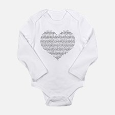 Verb Heart Body Suit