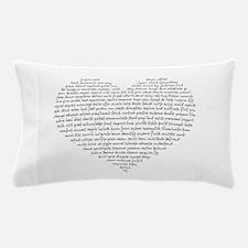Verb Heart Pillow Case
