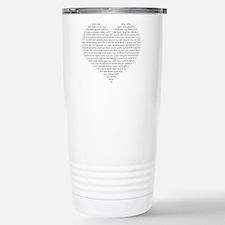 Verb Heart Travel Mug