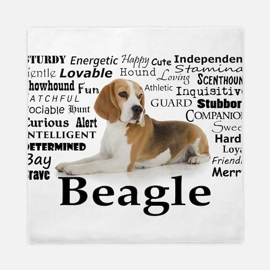 Beagle Traits Queen Duvet