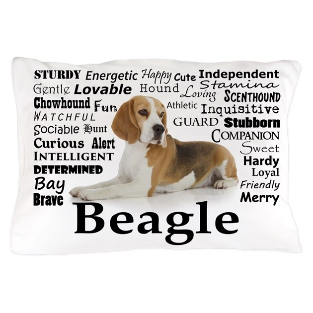 Beagle Traits Pillow Case By Shopdoggifts