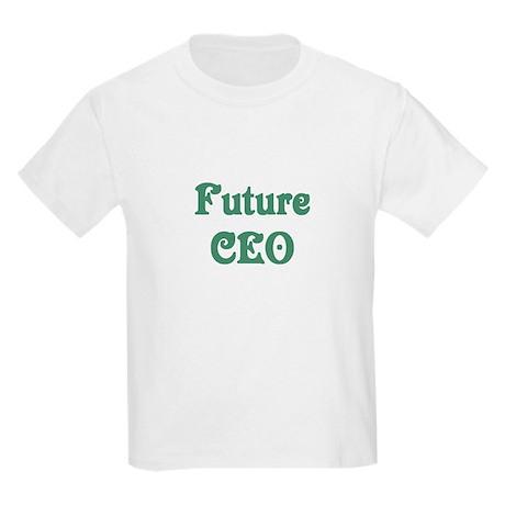 Future CEO Kids Light T-Shirt