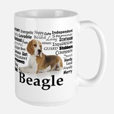 Beagle Traits Ceramic Mugs