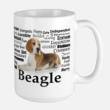Beagle Traits Large Mug