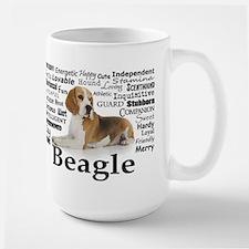Beagle Traits Large Mug