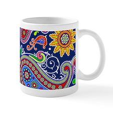 colorful paisley Mugs